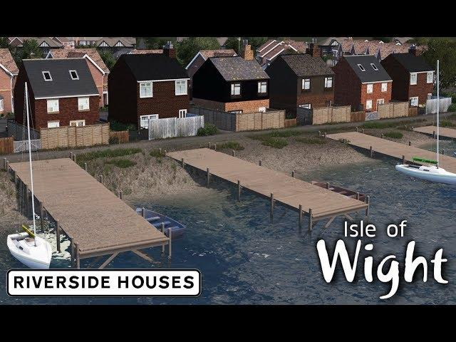 Riverside Houses - Cities: Skylines: Isle of Wight - 02