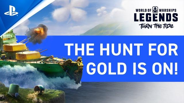 World of Warships: Legends – March Update Overview | PS4