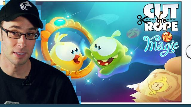 Cut The Rope: Magic (iOS 2015) Hey kids, remember Angry Birds and Fruit Splice!? - The Backlog