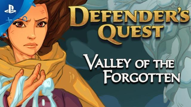 Defender's Quest: Valley of the Forgotten DX – Announce Trailer   PS4, PSVITA
