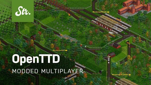 Modded OpenTTD with Friends