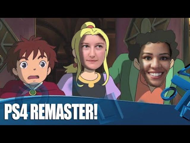 Ni no Kuni: Wrath of the White Witch Remastered - PS4 Gameplay!