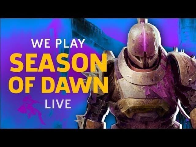 Destiny 2 Season Of Dawn | GameSpot Live