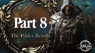 The Elder Scrolls Online Walkthrough - Part 8 ESCAPE BLEAKROCK - Gameplay&Commentary