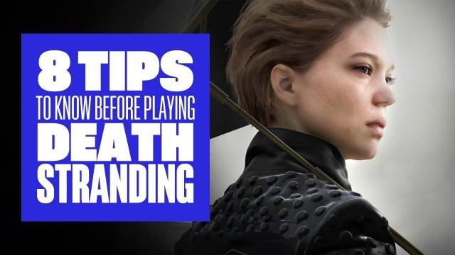 8 Death Stranding Tips We Wish We Knew Before We Started  - Death Stranding Gameplay