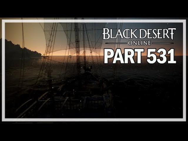 Black Desert Online - Dark Knight Let's Play Part 531 - Enhancing Frigate Gear