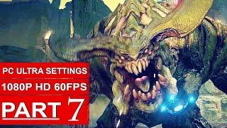 DOOM Gameplay Walkthrough Part 4 [1080p HD 60fps PC ULTRA] DOOM 4