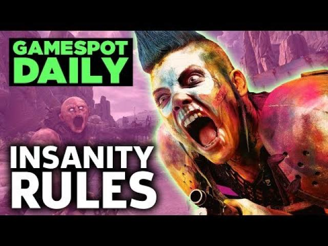 Rage 2 Gameplay Looks Wild And Dirty - GameSpot Daily