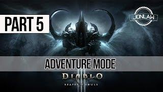 Diablo 3 Reaper of Souls Walkthrough: Part 5 Adventure Mode Gameplay