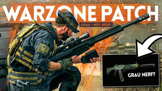 WARZONE SEASON 4 UPDATE: Over 10 MASSIVE Weapon Changes! (Grau + MP5 Nerf)