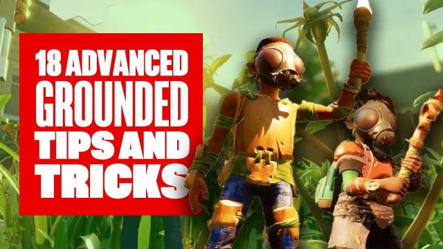 18 Advanced Tip and Tricks To Get You Started in Grounded - Grounded PC Tips and Tricks Gameplay