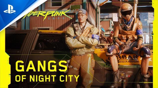 Cyberpunk 2077 - Gangs of Night City | PS4