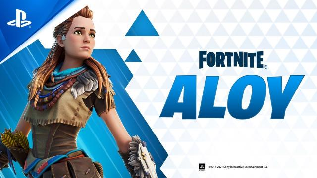 Fortnite - Aloy Gameplay Trailer   PS5, PS4