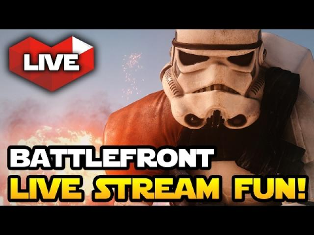 Star Wars Battlefront Live Stream Fun with Prize Giveaway!  (Star Wars HQ)