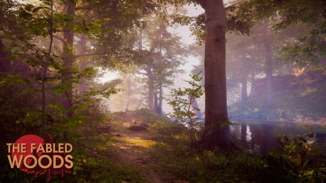 The Fabled Woods - Ray Tracing Cinematic