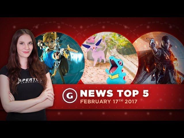 Nintendo Switch Leaks Early & Update Changes Pokemon Go! - GS News Update