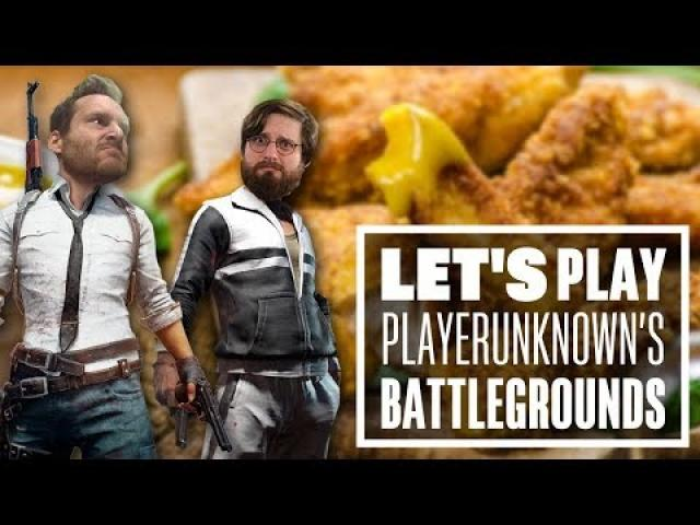 Let's Play PUBG gameplay with Johnny and Ian - CHICKEN DIPPER DUOS?!