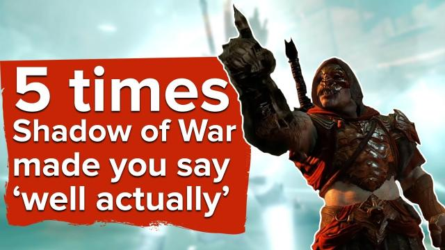 """5 """"I Think You'll Find"""" Moments from Shadow of War"""