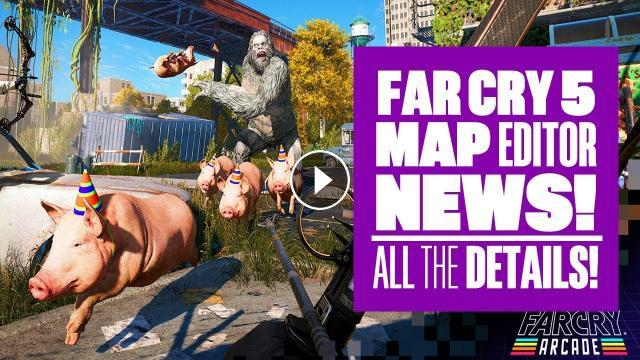 25 things you need to know about Far Cry 5 map editor gameplay