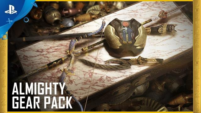 Assassin's Creed Origins: Almighty Gear Pack   PS4
