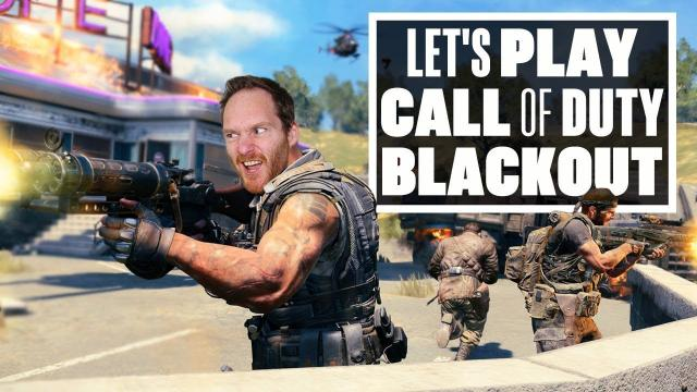 Let's Play Call Of Duty Black Ops 4 Blackout - IAN'S THOUGHTS ON THE BETA