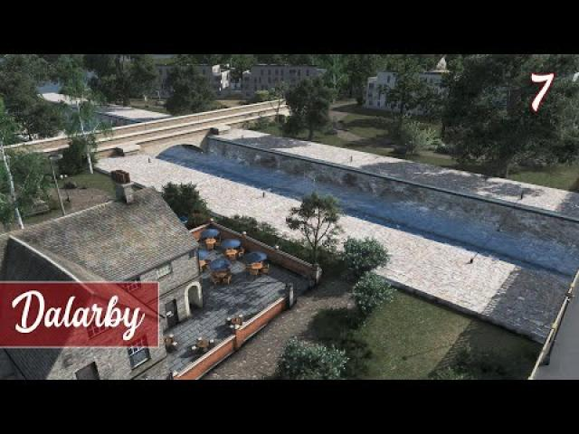 A river through town - Cities Skylines: Dalarby (ep.7)