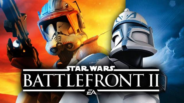 Star Wars Battlefront 2 - Clone Commander Heroes and Commandos That We Want in Multiplayer!