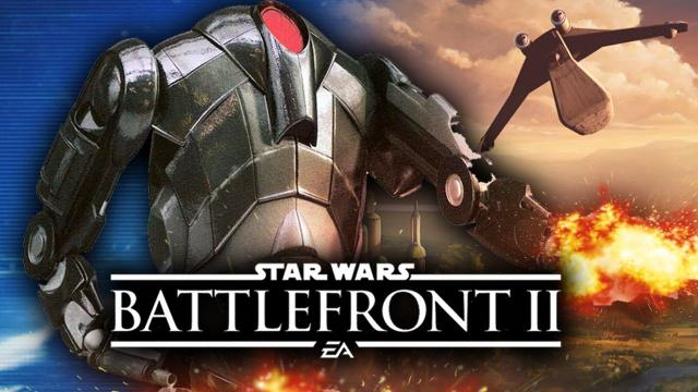 Star Wars Battlefront 2 - New Flying B2 Super Battle Droid Teased (RUMOR!)