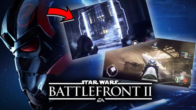 Star Wars Battlefront 2 - BTS Screenshots of New Planets and Single Player!