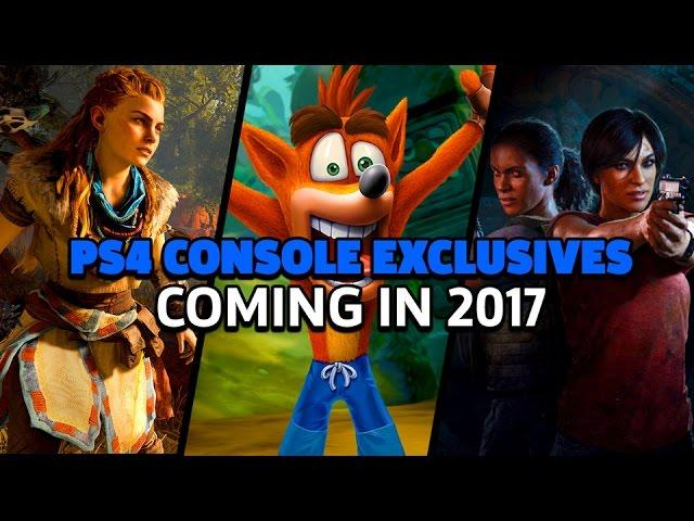 PS4 Console Exclusives Confirmed for 2017
