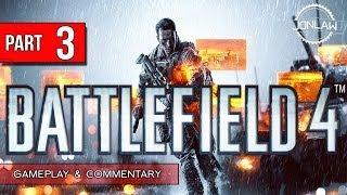 Battlefield 4 Walkthrough - Part 3 RESCUE VIPs - Let's Play Gameplay&Commentary BF4