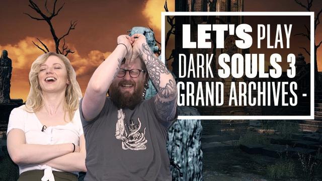 Let's Play Dark Souls 3 Episode 17: WOODEN DONUT OR CAT FOOD BANANA?