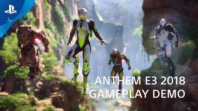 Anthem - PS4 Gameplay Preview | PlayStation Live From E3 2018