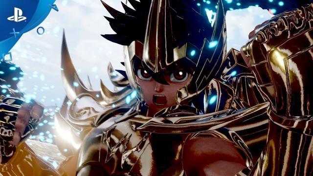 Jump Force - Saint Seiya Character Reveal 2018 Trailer | PS4