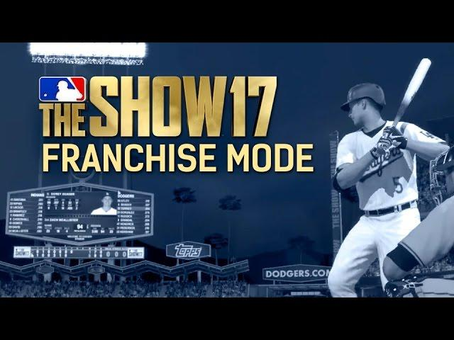 Checking Out MLB The Show 17's Improved Franchise Mode
