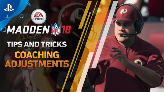 Madden 18 - Change the Game with Defensive Coaching Adjustments | PS4