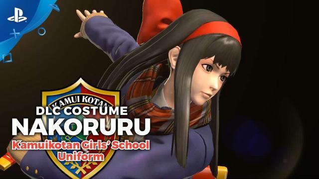 The King of Fighters XIV - Nakoruru School Uniform Costume Trailer | PS4