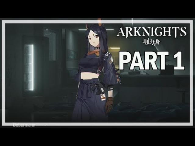 ARKNIGHTS - Let's Play Part 1 - Doctor - iOS Gameplay