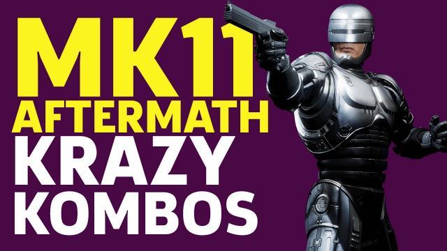 Mortal Kombat 11 Aftermath - Krazy Kombos