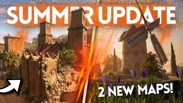 "Battlefield 5: 10 NEW WEAPONS, 2 Maps & 6 Vehicles in ""US vs Germany"" Summer Update! (Patch Notes)"