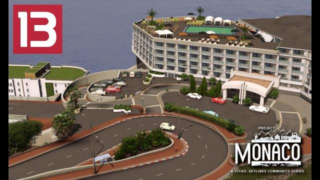 Fairmont Hairpin - Cities: Skylines: Project: Monaco - EP 13