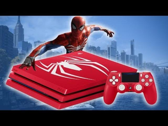 Amazing Spider-Man PS4 Pro And Story Trailer Swing By Comic-Con - GameSpot Daily
