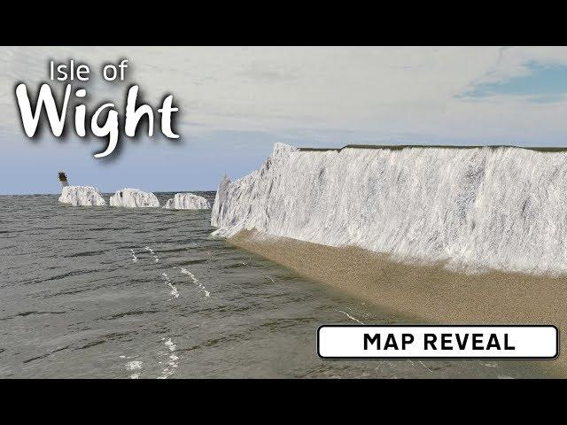 Map Reveal - Cities: Skylines: Isle of Wight - UK build