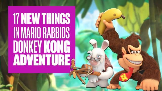 17 new things in Mario + Rabbids Donkey Kong Adventure