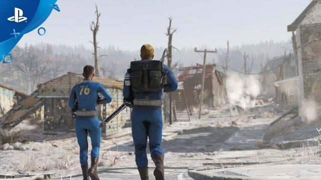 Fallout 76 – E3 2019 Nuclear Winter Gameplay Trailer  | PS4