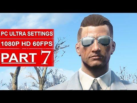 Fallout 4 Gameplay Walkthrough Part 7 [1080p 60FPS PC ULTRA Settings] - No Commentary