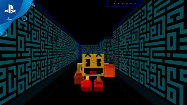 PAC-MAN comes to Minecraft | PS4