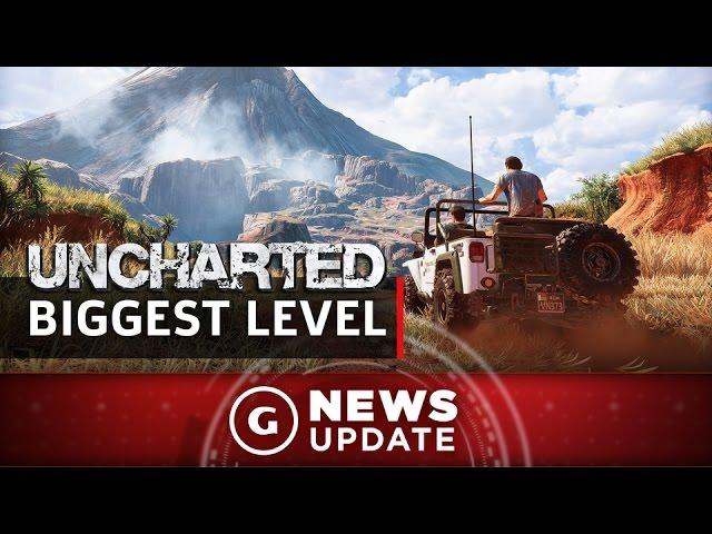 The Lost Legacy Contains Uncharted's Largest Level Ever - GS News Update