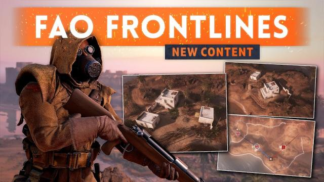 ► THIS ALMOST GOT DELETED! Fao Fortress Frontlines - Battlefield 1 (New Content)