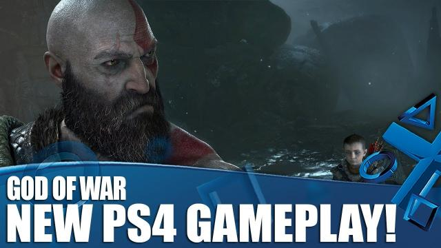 God Of War - New PS4 Gameplay